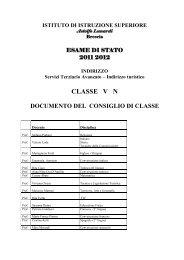 Classe 5°N
