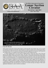 Vol 49, No 4, April 2012 - BAA Lunar Section