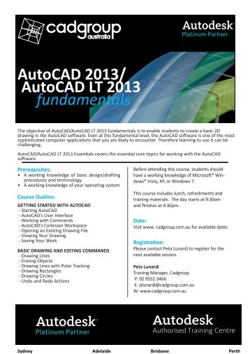 Autocad 2018 Tutorial First