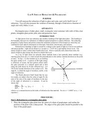 LAB 9 - Physics @ CSU Stanislaus