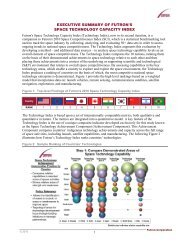 executive summary of futron's space technology capacity index