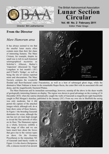 Vol 48, No 2, February 2011 - Lunar Section