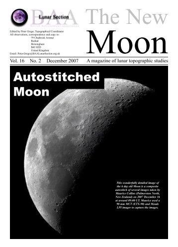 Vol. 16, No. 2 - BAA Lunar Section