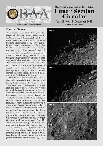 Vol 49, No 12, Dec 2012 - BAA Lunar Section