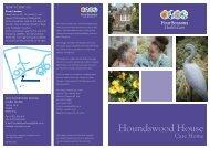 Houndswood House Brochure - Four Seasons Health Care