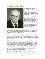 Prof Dr Karl Heinz Boeckstiegel International Institute Of Space Law