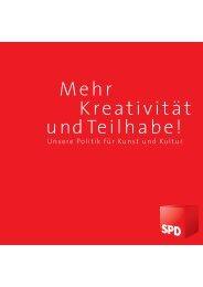 Mehr Kreativität undTeilhabe! - Forum für Kunst und Kultur der ...