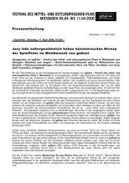 11. April 2006 - goEast - Deutsches Filminstitut