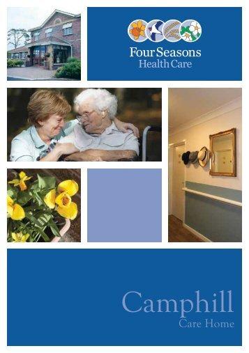 Camphill Brochure - Four Seasons Health Care