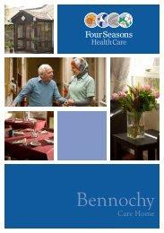 Bennochy Brochure - Four Seasons Health Care
