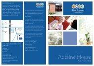 Adeline House Brochure - Four Seasons Health Care