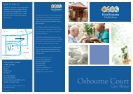 Osbourne Court Brochure - Four Seasons Health Care