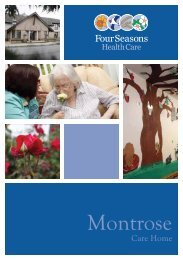 Montrose Brochure - Four Seasons Health Care