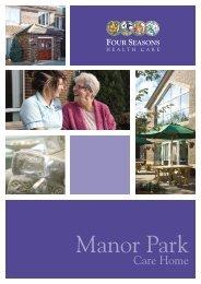 Manor Park - Four Seasons Health Care
