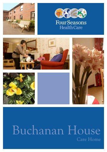 Buchanan_House Brochure - Four Seasons Health Care