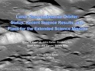 LRO - NASA Lunar Science Institute