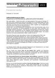 27. April 2004 - goEast - Deutsches Filminstitut