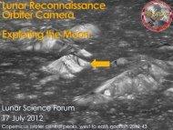 Lunar Reconnaissance Orbiter Camera Exploring the Moon