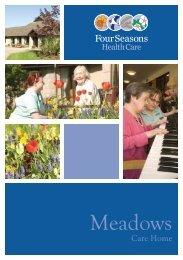 The Meadows Brochure - Four Seasons Health Care