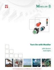 Turn On with Moeller - Klockner Moeller Parts