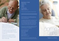 Highcare at Home Brochure - Four Seasons Health Care
