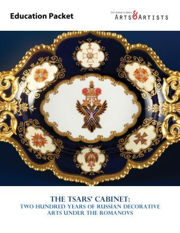 thE tSARS' CABINET: - International Arts & Artists