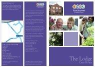 The Lodge Brochure - Four Seasons Health Care