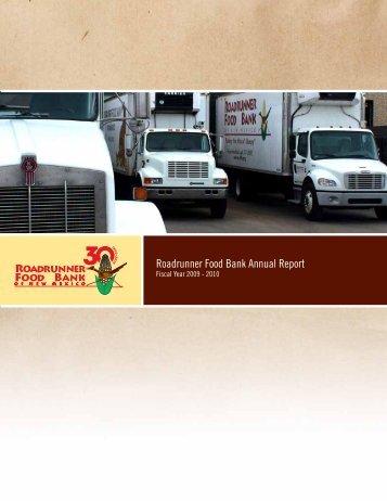 Roadrunner Food Bank Annual Report