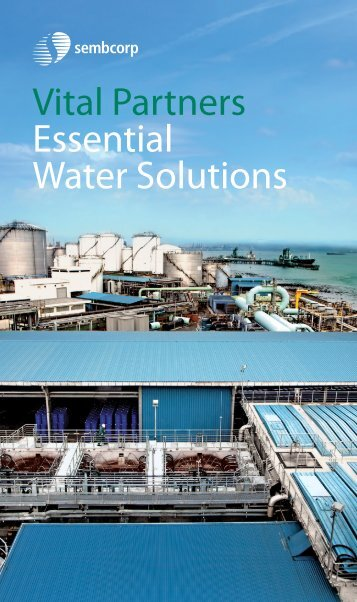 Sembcorp Water Brochure