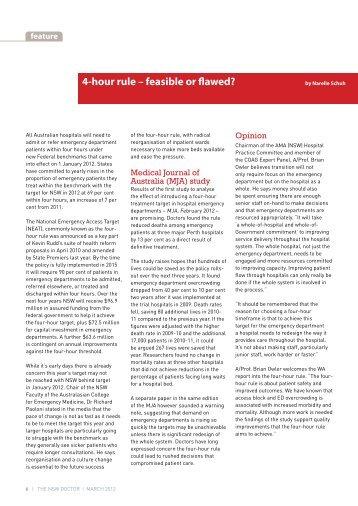 4-hour rule - Australian Medical Association NSW