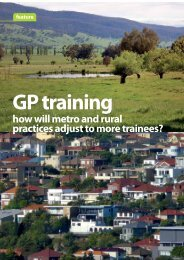 how will metro and rural practices adjust to more trainees?