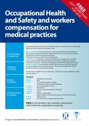 Occupational Health and Safety and workers compensation for ...