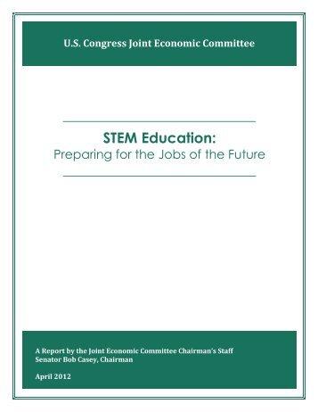 STEM Education - U.S. Congress Joint Economic Committee