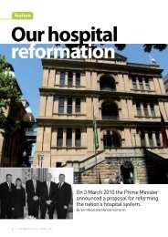 Our hospital reformation (PDF) - Australian Medical Association NSW