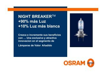 NIGHT BREAKERTM +90% más Luz +10% Luz más ... - am tuning
