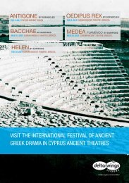 visit the international festival of ancient greek drama in cyprus ...