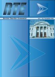 Revista Tinerilor Economi[ti - Centru E-learning de Instruire al ...