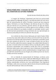 Novas peNélopes: a rasura de um mito Na literatura de ... - TEL