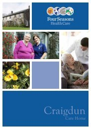 Craigdun Brochure - Four Seasons Health Care