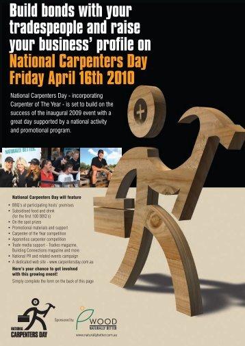 carpenters day - WADIC