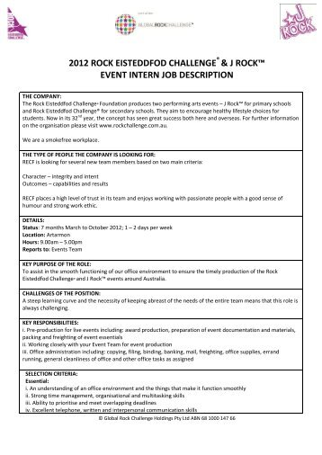 Awesome Intern Job Description Contemporary  Best Resume Examples