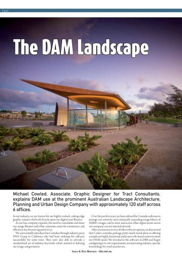 The DAM Landscape - DataBasics
