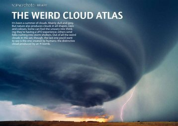 THE WEIRD CLOUD ATLAS - Science Photo Library