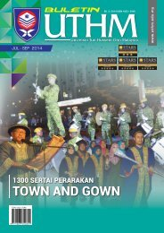 Buletin UTHM Bil. 3/2014 Edisi JUL-SEP 2014