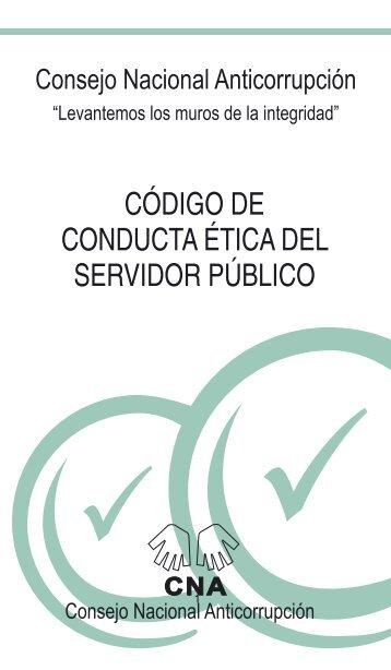 código de conducta ética del servidor público - Comisión Nacional ...