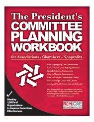 President's Committee Planning Workbook