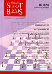 Jurnal Siasat Bisnis - DIGITAL LIBRARY - FAKULTAS EKONOMI UII