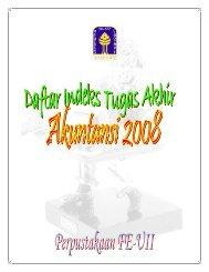 abstrak akuntansi 2008 - DIGITAL LIBRARY - FAKULTAS EKONOMI ...