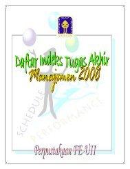 abstrak manajemen 2008 - DIGITAL LIBRARY - FAKULTAS ...