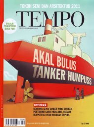 TEMPO – No. 4045/9-15 Januari 2012